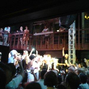 The Spazmatics playing at Cedar Street Austin