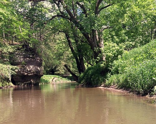 the relaxing side of the Kickapoo,..in early Summer