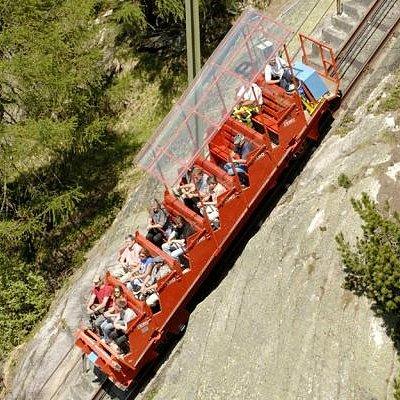 Gelmerbahn - 106% Steigung