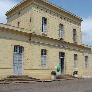"""Arquivos Históricos e Museu Municipal, prédio da antiga """"Estação Ferroviária"""""""