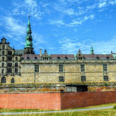 Castillo Kronborg - residencia de Hamlet