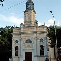 Kościół ewangelicki św. Piotra i Pawła w Pabianicach.