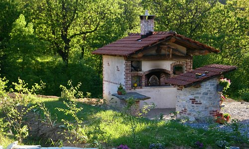 il forno e il vecchio pozzo