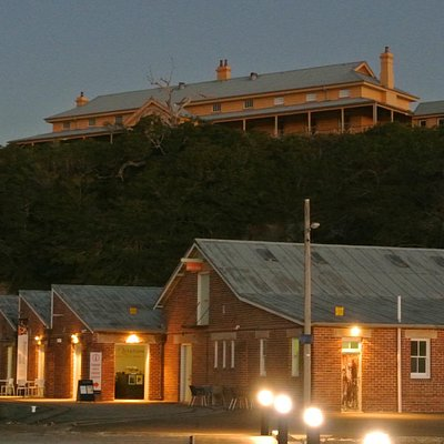 Luggage Museum at the wharf - hospital on the hill