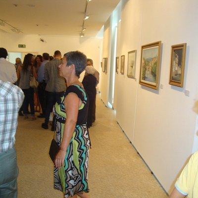 Exposição de pintura de Abilio Mineiro