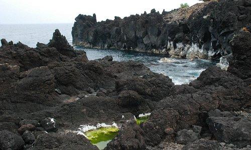 Lavafelder rund um die Naturbäder
