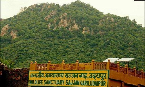 Sajjan Garh ticket gate