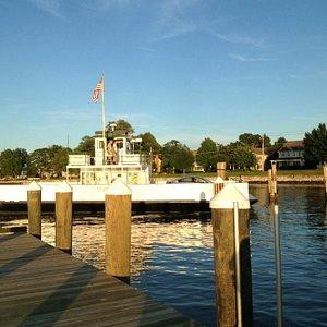 Arriving at dock