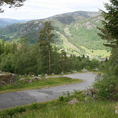 Tronåsen - direction Sira