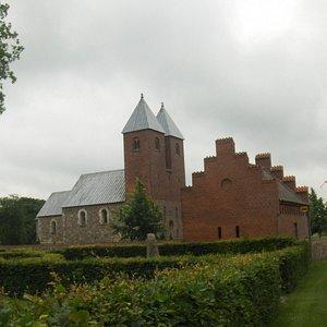 Fjenneslev Kirke,Kirke Fjenneslev, juni 2013