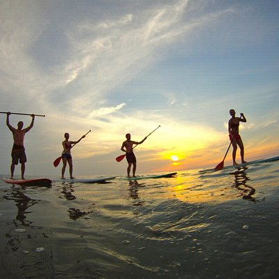 Sunset SUP Tours in Mal Pais are a must!