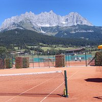 The courts at the Stanglwirt