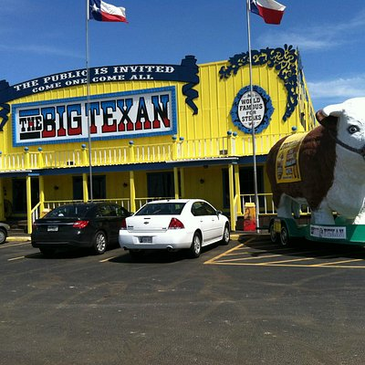 Route 66, The Big Texan restaurant