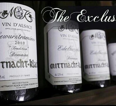 Exclusive wine shop