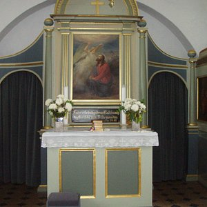 Alteret i Vær Kirke