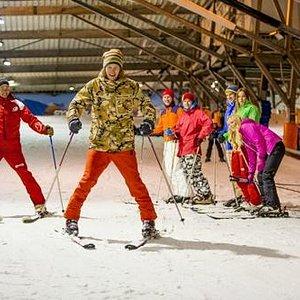 Skiles in SnowWorld Zoetermeer