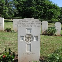 Grave at Trincomalee War Cemetery