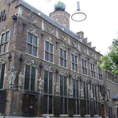 Stadhuis, Nijmegen, Holanda.