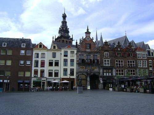 Grote Markt, Nijmegen, Holanda.