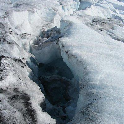 На Галдхопигген через ледник Svellnosbreen: подъем на ледник