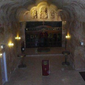 Underground 'Cathedral' size church