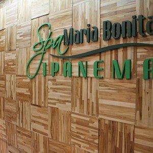 O restaurante Spazziano fica dentro do Spa Maria Bonita de Ipanema.