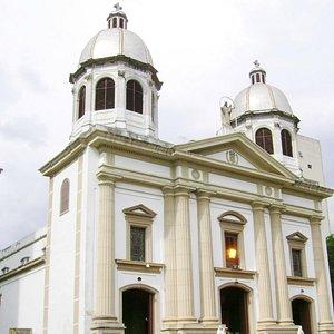Fachada de la Iglesia de las Mercedes.