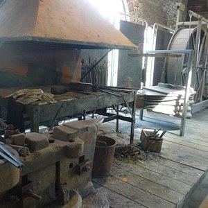exemple de forge au Moyen Age