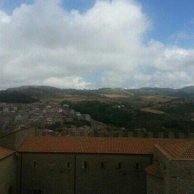dall'alto del borgo