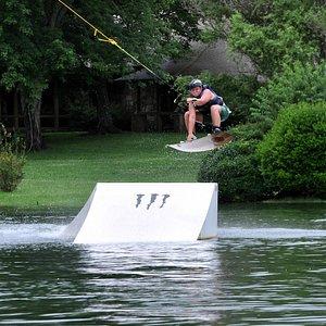 Evan catching Air