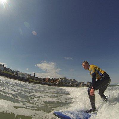 Surfing in the Sun Eastside!