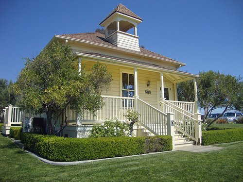 Baileyana Winery Tasting Room located in a historic schoolhouse