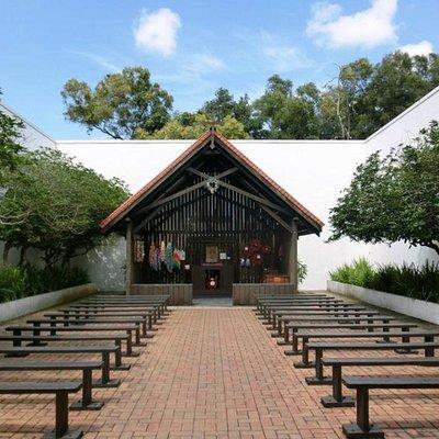 Replica Chapel at Changi Museum
