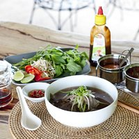 Pho Chin- Classis Vietnamese beef noodle soup, tender beef brisket and shank slow cooked