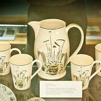 Fry Gallery, Eric Ravilious designs on crockery