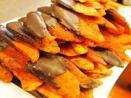Red chili Mango's dipped in 72% Dark Chocolate