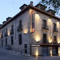 Fachada Restaurante Hotel el doncel