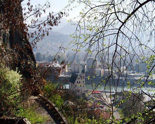 La vista su Trento e l'Adige