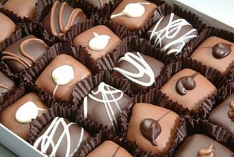 Yummy French Chocolates, also known as Truffles!
