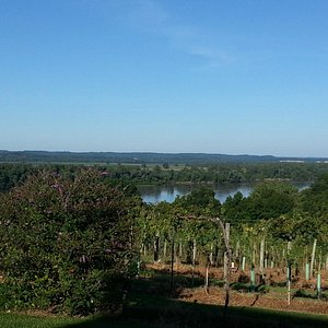 amazing view of the missouri river