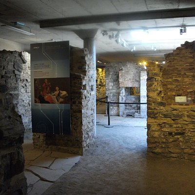 Les vestiges Forts-et-Châteaux-St-Louis
