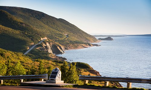 Scenic Look-off on the Cabot Trail