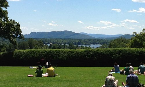 Tanglewood lawn and views.