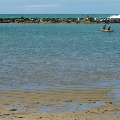Praia do Niquim - Barra de São Miguel