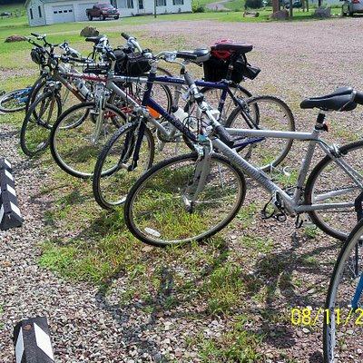 Get Out & Go Tours provides rental bikes