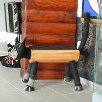 очаровательная скамейка