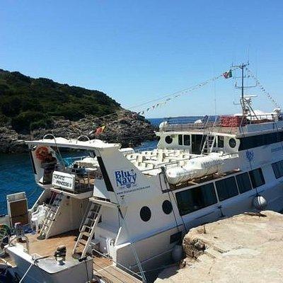 la barca Blu Navy