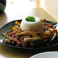 Chicken Stir Fry Dish - Delicious