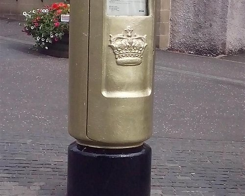 Andy's postbox in Dunblane