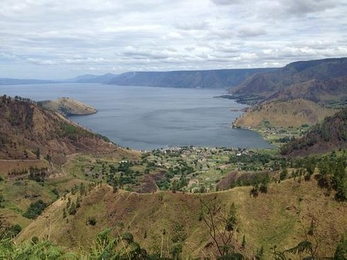 Lake Toba view from Gundaling